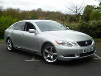 2005 Lexus GS 300 3.0 SE AUTOMATIC SALOON ++ NAV + CAMERA + KEYLESS + CRUISE