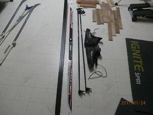Ensemble de ski de fond pour homme