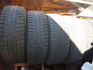 Michelin Latitude X-Ice 245/65R17 winter tires