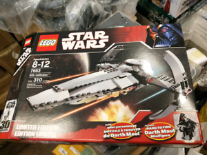 Lego Star Wars Darth Maul Sith Infiltrator 7663