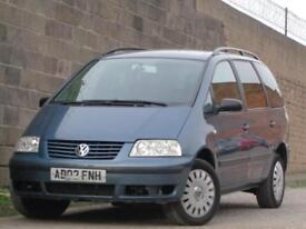 2002 Volkswagen Sharan 2.0 PETROL SL***AUTOMATIC + 7 SEATER***