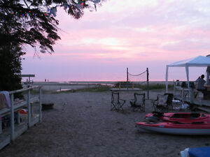 Sauble Beach Cottages To Rent Right on the Beach!
