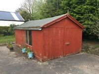 18'x10' Large Timber Shed - Good Condition