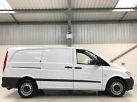 MERCEDES-BENZ VITO AUTO 160BHP 2.1CDI 116CDI AUTOMATIC LONG WHEELBASE LWB VAN