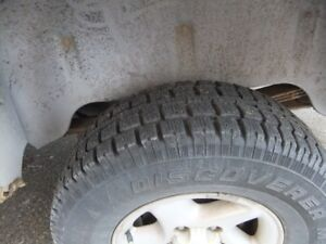 245/75/16 inch cooper discovery tires m/s