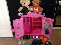 Build a bear , design a bear , teddy