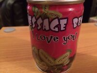 """Message bean """"I love you"""""""