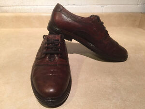Men's Broke Land by Afis Leather Dress Shoes Size 7.5-8 London Ontario image 6