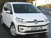 Volkswagen Up! 1.0 TSI ( 90ps ) 2017 : 5-door HIGH UP in White