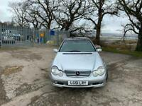 2002 Mercedes-Benz C200 auto Elegance With Long MOT PX Welcome