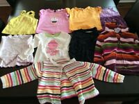18-24 month girls t-shirts and sweaters