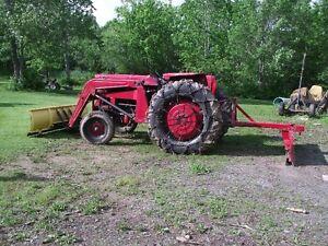 165 Massey Tractor