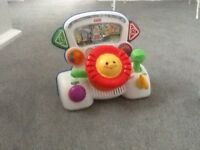 Collection of baby toys