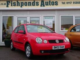 2002 Volkswagen Polo 1.4 SE 3dr