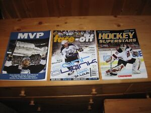 HOCKEY MAGAZINES / FAN GUIDES, ETC. - REDUCED!!!!
