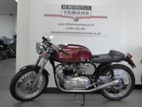 1970 TRITON CAFE RACER 750 RARE MACHINE, NORTON FEATHER BED TRIUMPH ENGINE