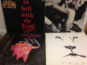 Heavy Metal Records SABBATH (4 Set)