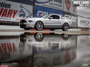 2010, Ford, Mustang ,Shelby ,GT500 ,Coupé (2 portes)