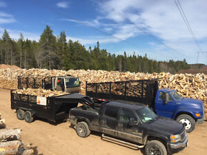 Firewood for sale, cut split and deliver hardwood