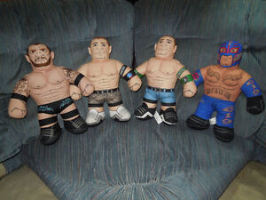 WWE PLUSH STUFFED WRESTLING BUDDIES Kitchener / Waterloo Kitchener Area image 1