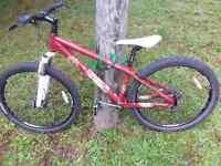 Giant stp down hill bike