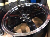 "18"" alloy wheels Alloys Rims tyre tyres 5x120 BMW 1 2 3 4 series"