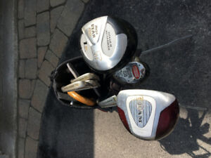 Women's left hand golf set