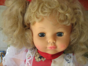 Vintage Doll with Lots of Hair--$25.