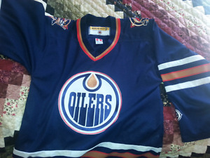 2 New Adult Oilers Jersey
