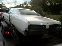 1967 buick wildcat 455,automatic,derby car,parts,ice racer