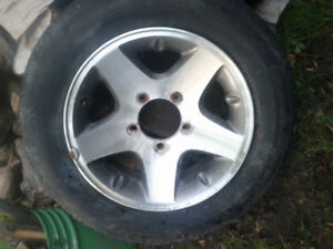 215 60 16 rim and tire