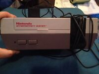 nintendo nes system and games