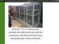 BIRD AVIARY suitable for ferrets, cat run, chickens,rabbits etc.