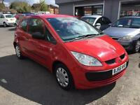 Mitsubishi Colt 1.1 ( 74bhp ) CZ1 68K FSH DRIVES WELL IDEAL FIRST TIME CAR