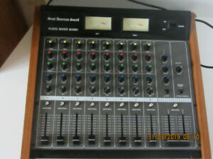 Audio Mixer Great american sound