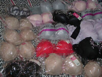 About 800 bras, all in the range of about C cup BRAND NEW
