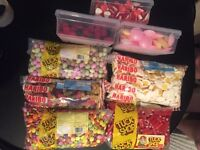 9kg of sweets ideal for party/wedding/sweet cart