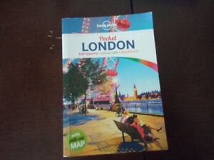 LONELY PLANET Pocket Travel book LONDON ENGLAND w map