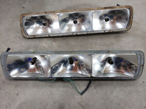 1968 Mustang California Special tail light housing.