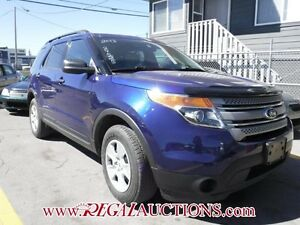 2013 FORD EXPLORER BASE 4D UTILITY 4WD V6 BASE