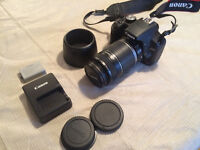 Canon EOS Rebel T1i with EF-S 55-250mm IS lens