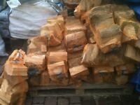 Logs/firewood/kindling for sale.
