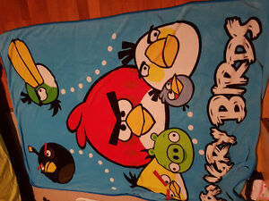 Angry Birds Throw and Angry Birds Blanket Windsor Region Ontario image 1