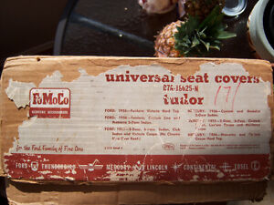 1955 & 1956 Ford & Mercury New Old Stock factory seat covers London Ontario image 1