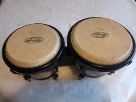 Stagg 6'' & 7'' Traditional Wood Bongo Set