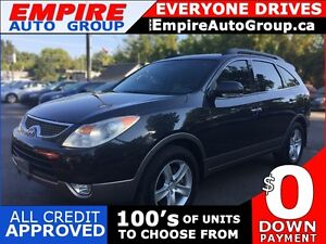 2008 HYUNDAI VERACRUZ LIMITED * AWD * LEATHER * SUNROOF * DVD *