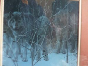 Robert Bateman prints   framed