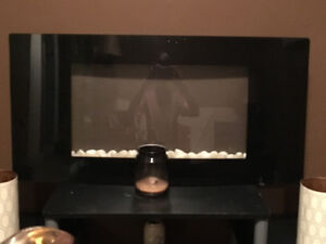 Selling glass electric fire place