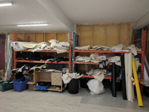 Racking, Drill Press and other miscellaneous items for sale