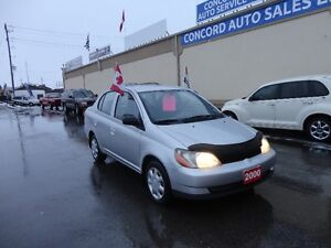 2000 Toyota Echo Sedan E-TESTED & CERT Kitchener / Waterloo Kitchener Area image 1